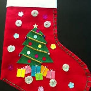 Montana Family Market_Sew your own Christmas sock