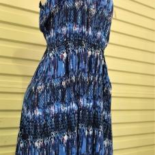 Montana Family Market_Mostafa_blue and white tie-dye dress