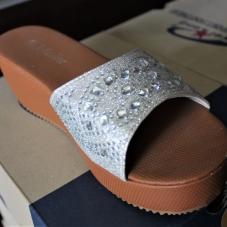Montana Family Market_Hajid's Shoes_White wedge sandals