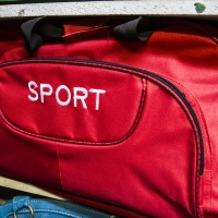 Montana Family Market_Waqas Trading CC_bright red sports duffel bag