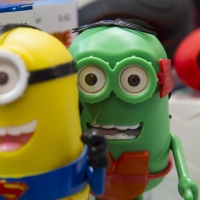 Montana Family Market_Appleberry Fix_novelty minion speakers in different colors